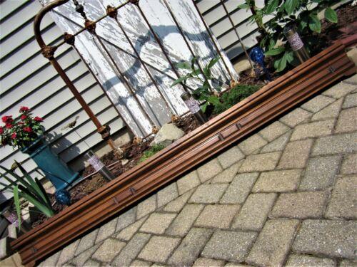 LARGE Victorian Walnut Architectural Header Furniture Pediment Narrow Wall Shelf