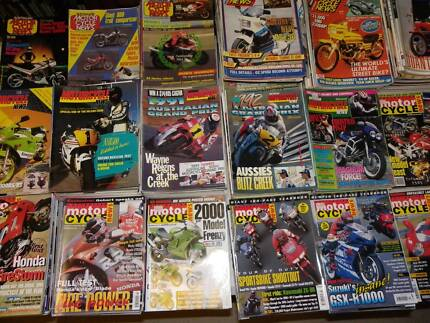 AUSTRALIAN MOTORCYCLE NEWS MAGAZINES