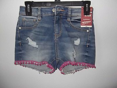 ARIZONA JEAN CO - TEEN - HIGH RISE SHORTS - LIGHT DENIM - SIZE 1  (AC-24-27)](Teen Booty Shorts)