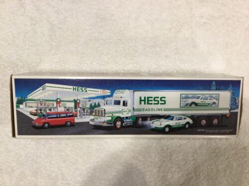 Hess Gasoline 18 Wheeler Semi and Racer 1992