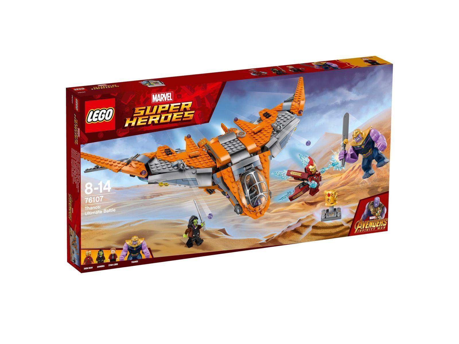 Lego Marvel Super Heroes Thanos Das Ultimative Gefecht 76107 Ebay