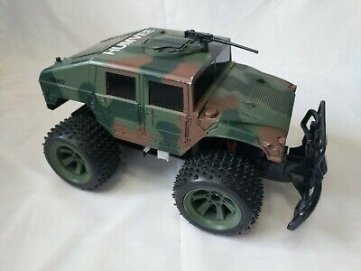Used, NIKKO 1:10 Scale Military Camouflage Hummer HUMVEE Personal Carrier RC Truck Car for sale  Gibsonia