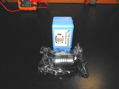 Cnc Stepperservo Zero Backlash Stainless Motor Coupler 8mm X 10mm