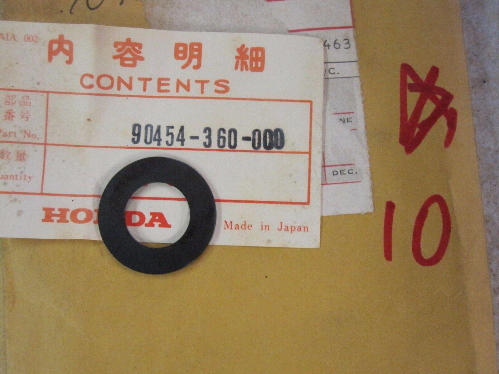 NOS Honda 74 75 76 77 78 MT125 CR125 MR175 CR125 Thrust Washer 90454-360-000
