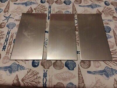 14 Aluminum 612 Sheet Plate 6061 Set Of 3 Pcs