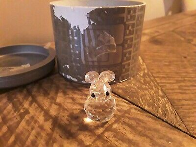 Swarovski Crystal Bunny Figurine Mint w/box