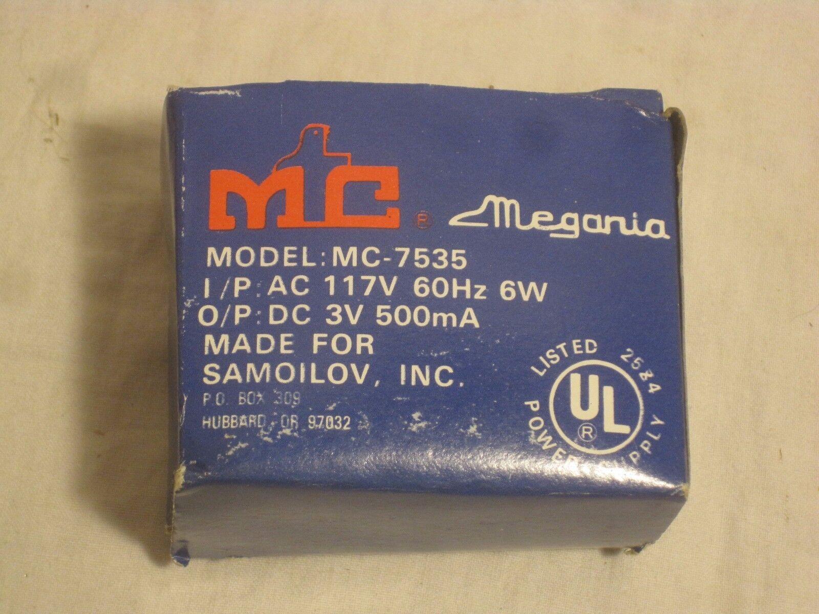 Megania MC 7535 power supply Samoilov  Plug In Transformer