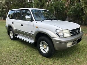 2001 Toyota Prado Grande, auto, icy air, 8 seater! Holtze Litchfield Area Preview