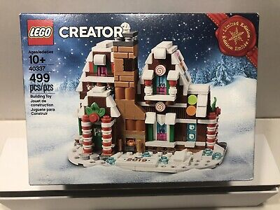 New LEGO Creator Limited Edition Gingerbread House 40337