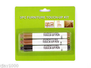 3PC-Furniture-Touch-Up-Scratch-Fix-Pen-Light-Medium-Dark-Brown