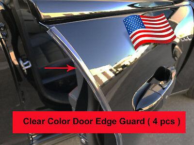 Edge Guard Set (4pcs set CLEAR DOOR EDGE GUARD Protection Trim Molding Stripe)