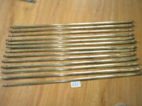 ANTIQUE BRASS STAIR RODS