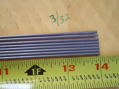 10 Pcs. Stainless Steel Round Rod 302 332 .093 2.38mm. X 14 Long