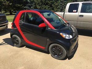 2013 Smart Car Sharp Red Edition