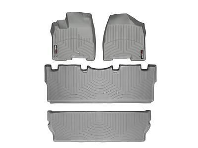 Weathertech Floor Mats Floorliner For Toyota Sienna   2004 2010   Grey