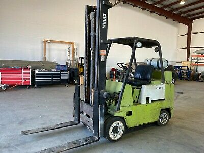 Clark Propane Forklift - Used - 10000 Lb Capacity