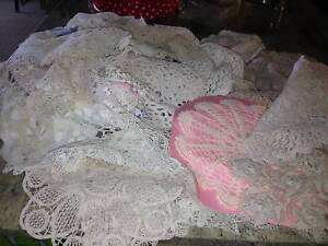 Collection of numerous hand made Doilies in excellent cond..$80. Bundall Gold Coast City Preview