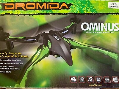 Dromida-Ominus UAV Drone Quadcopter Drone , MODEL DIDE01BB-BLUE - LIGHTLY USED!