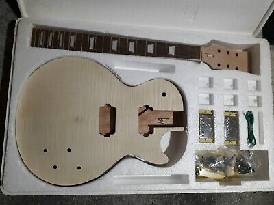 Electric Guitar kit LP Style complete kit with upgrades