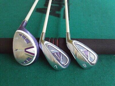 Girls Tour X Junior Golf Club Set Kids Childs Youth Graphite Hybrid & Irons RH (Junior Golfschläger Graphit)