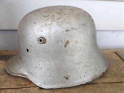 Original World War 2, German  Helmet. WW II, Stahlhelm, No Liner