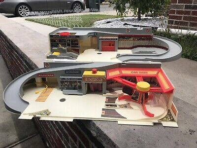 hot wheels sto and go playset Vintage 80's **as Is***
