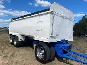 Steel Super Dog 3 axle tipping tipper trailer. Airbag suspension. Inverell Inverell Area Preview