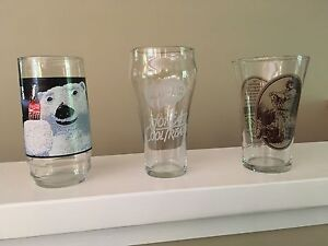 3 Coca Cola collector glasses (make an offer)