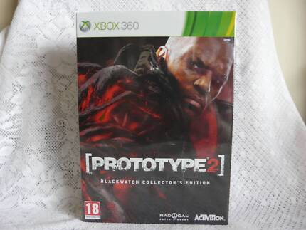 Prototype 2 - Blackwatch Collectors Edition Xbox 360 NEW & SEALED Booval Ipswich City Preview
