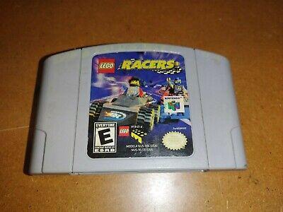 Vintage Nintendo 64 N64 Lego Racers Game Cartridge Tested & Working