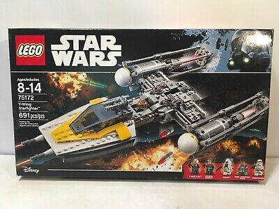 LEGO Star Wars Y-Wing Starfighter (75172) New Sealed