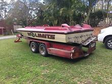 Ski Race Boat, Chase Hull 21ft Mudgeeraba Gold Coast South Preview
