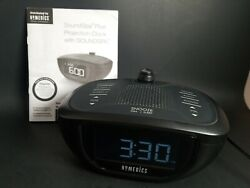 HoMedics SS-5075 SoundSpa Plus Projection Clock Radio and Manual