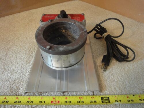 Lee electric 120V solder pot. Tin, Lead melting crucible for soldering, casting.