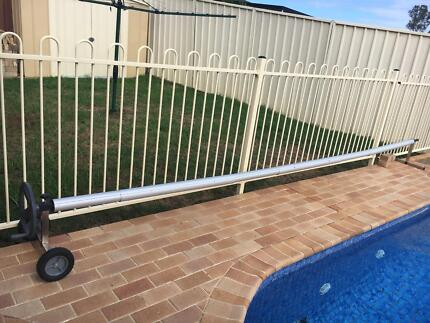 Pool Cover and Reel