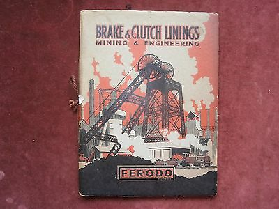 Ferodo brake and clutch linings