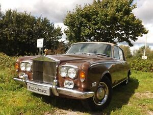 "Rolls-Royce Silver Shadow Serie 1 ""Chrommodell"" !!"