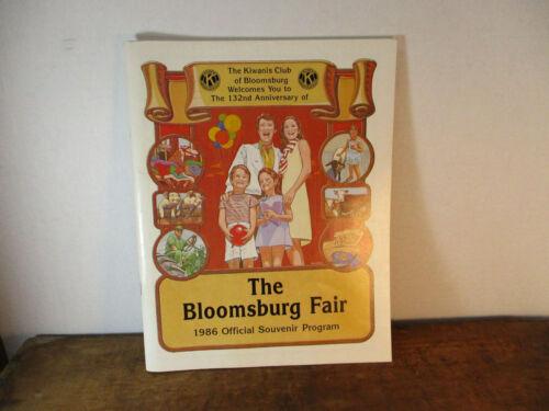 The Bloomsburg Fair 1986 Souvenir Program