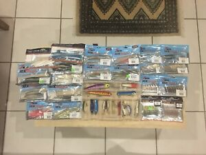 Pack of Fishing Lures- Harbodies and Soft Plastics
