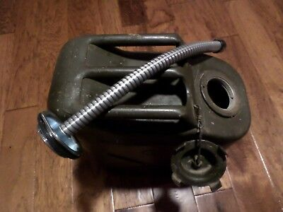 Jerry Can Spout Military Gas Nozzle 5 Gal Flexible Metal Can Not Included