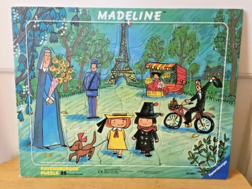 Vintage Ravensburger Madeline France Puzzle 25 Pieces 1991 W. Germany 11.5x14.5""