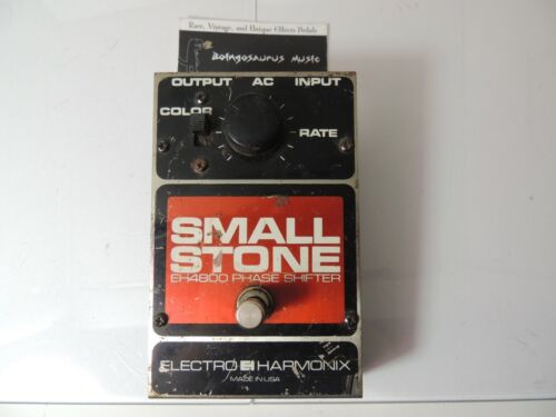 Vintage v3 Electro Harmonix Small Stone Phaser Phase Shifter Effects Pedal
