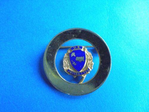 Cool Vintage US Jayceettes Lady Jaycees Pinback Brooch Pin