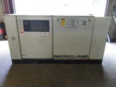 Ingersoll Rand Ssr-ep100 Wrefrigerated Dryer 100hp Rotary Screw Air Compressor