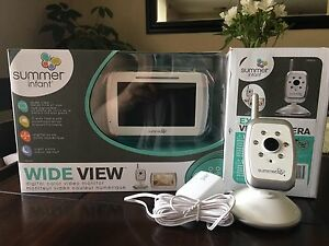 Summer Infant Wide View Baby Monitor & 2nd Cam
