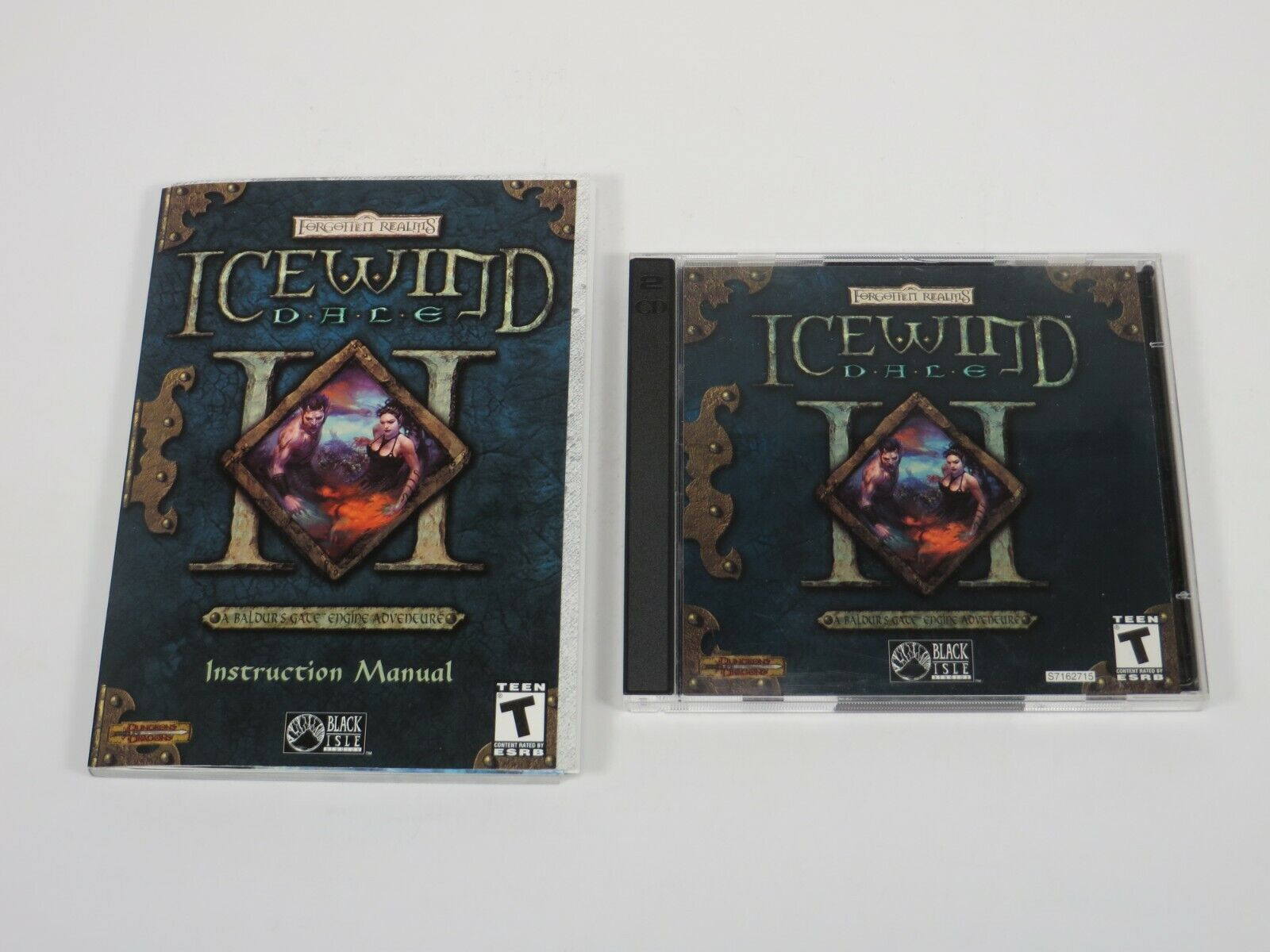 Computer Games - Icewind Dale II (PC, 2002) PC Vintage Computer Game Black Isle