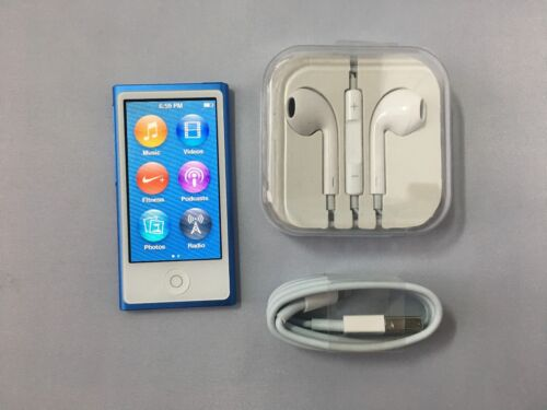 Apple iPod nano® 16GB MP3 Player (8th Generation Latest Model) Blue MKN02LL/A