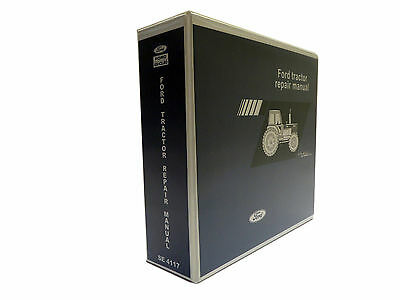 Ford Tw-5 Tw-15 Tw-25 Tw-35 Tractor Service Manual Repair Shop Book New
