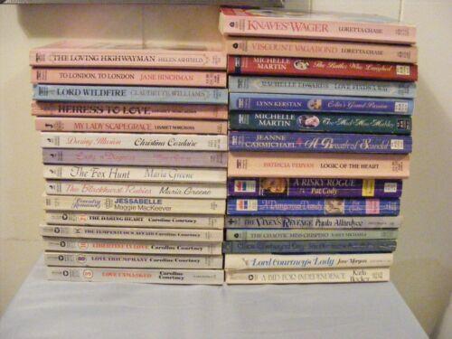 Large Lot (30) REGENCY Romances- assorted authors/publishers - pbs - FREE SHIP
