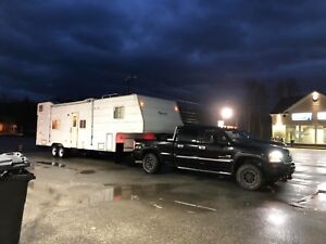 Fifthwheel and camper trailer MOVING SERVICES